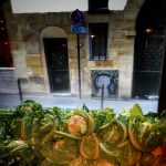 Miznon Paris Marais Restaurant France Cauliflower Window