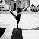 Knekoh Fruge Downtown Yoga Studio Rooftop Yoga Instructor