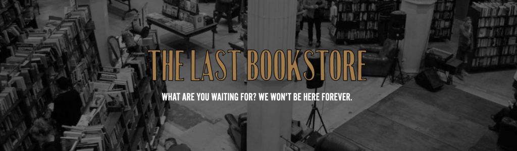 The Last Bookstore Screenshot MadeInMarais.com Blog Post about the Last Bookstore LA