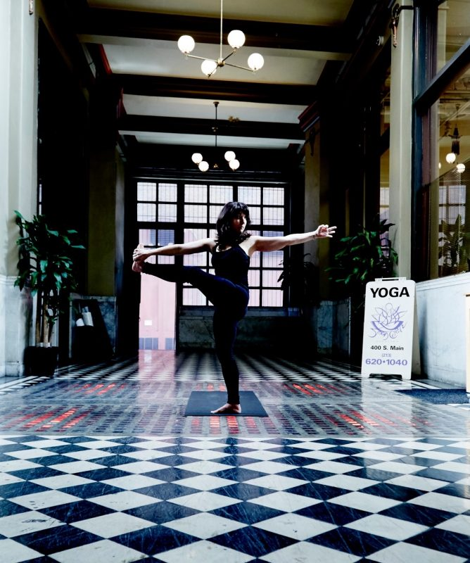 Yoga in Downtown LA - Breathe, Tone Up, and Tune Out The ...